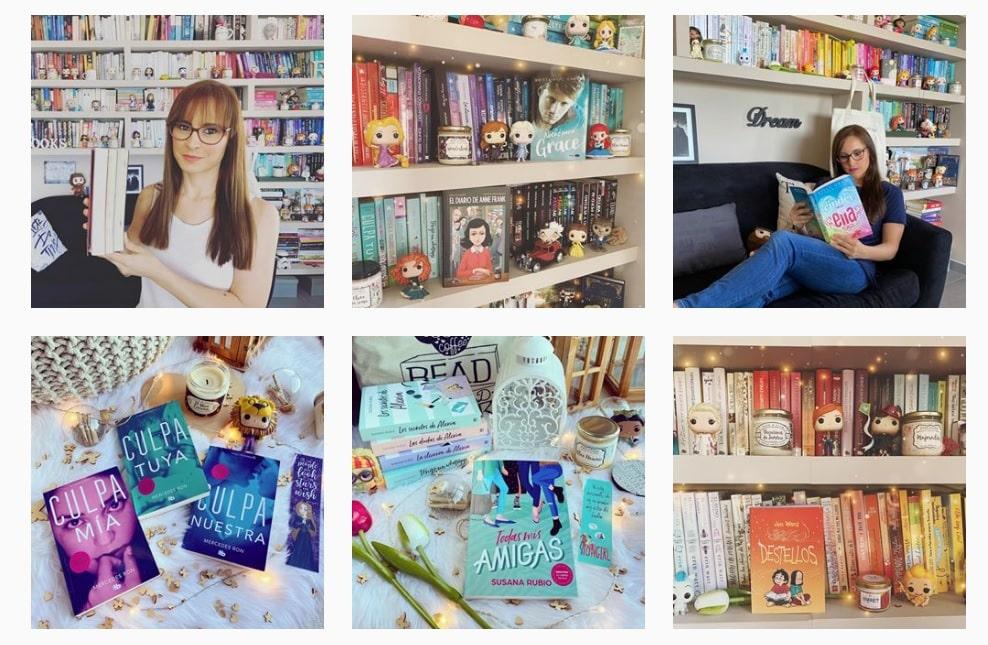 Bookstagrammer española