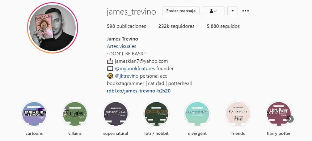 Instagramer james Trevino